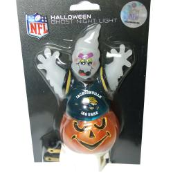 Jacksonville Jaguars Halloween Ghost Night Light