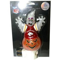 Kansas City Chiefs Halloween Ghost Night Light