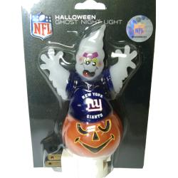 New York Giants Halloween Ghost Night Light
