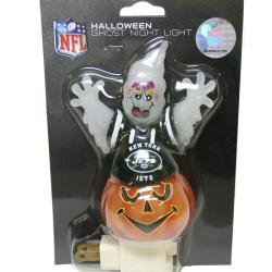 New York Jets Halloween Ghost Night Light