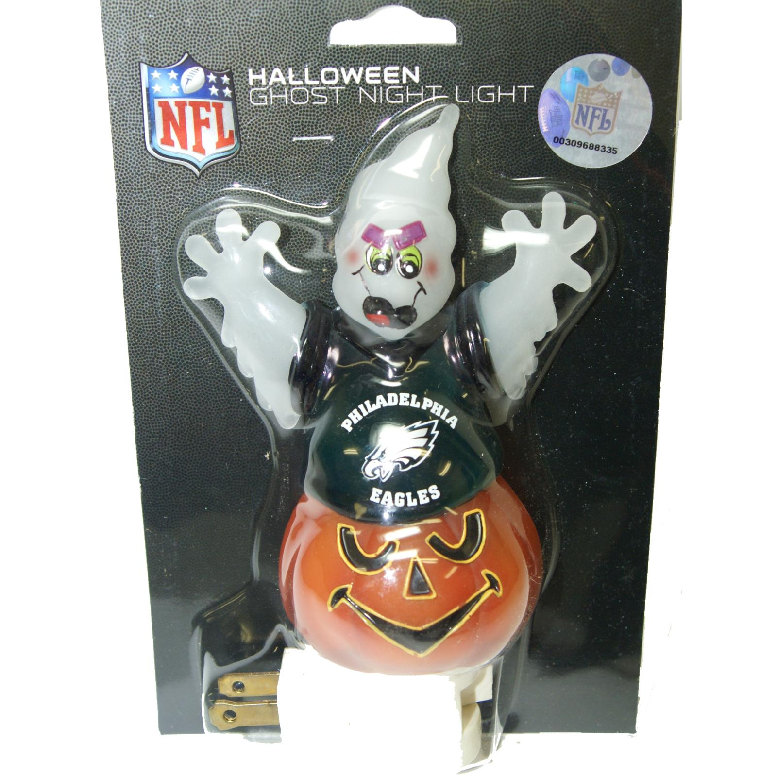 Philadelphia Eagles Halloween Ghost Night Light