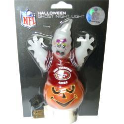 San Francisco 49ers Halloween Ghost Night Light