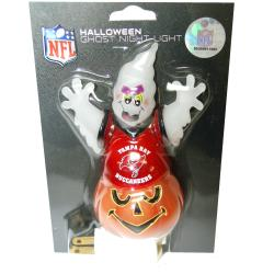 Tampa Bay Buccaneers Halloween Ghost Night Light
