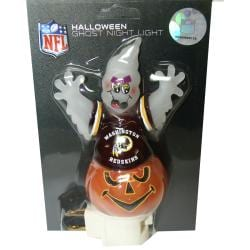 Washington Redskins Halloween Ghost Night Light