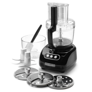 KitchenAid KFPW763OB Black 12-cup Food Processor