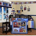 Sailor 13-piece Crib Bedding Set