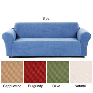 Snowball Stretch Loveseat Slipcover