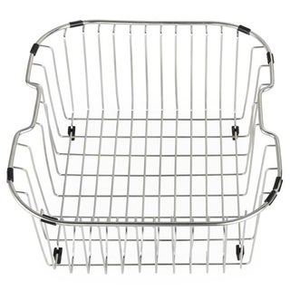 Kraus Chrome-Plated Stainless-Steel Kitchen Sink Rinse Basket