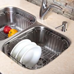 Kraus Kitchen Accessory Stainless Steel Sink with Rubber Bumpers