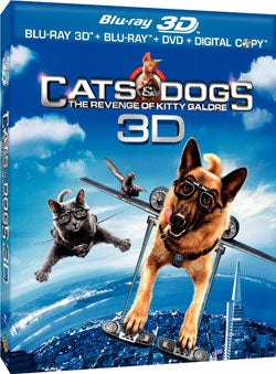 Cats & Dogs: The Revenge Of Kitty Galore 3D (Blu-ray Disc)