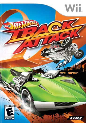 Wii - Hot Wheels Track Attack