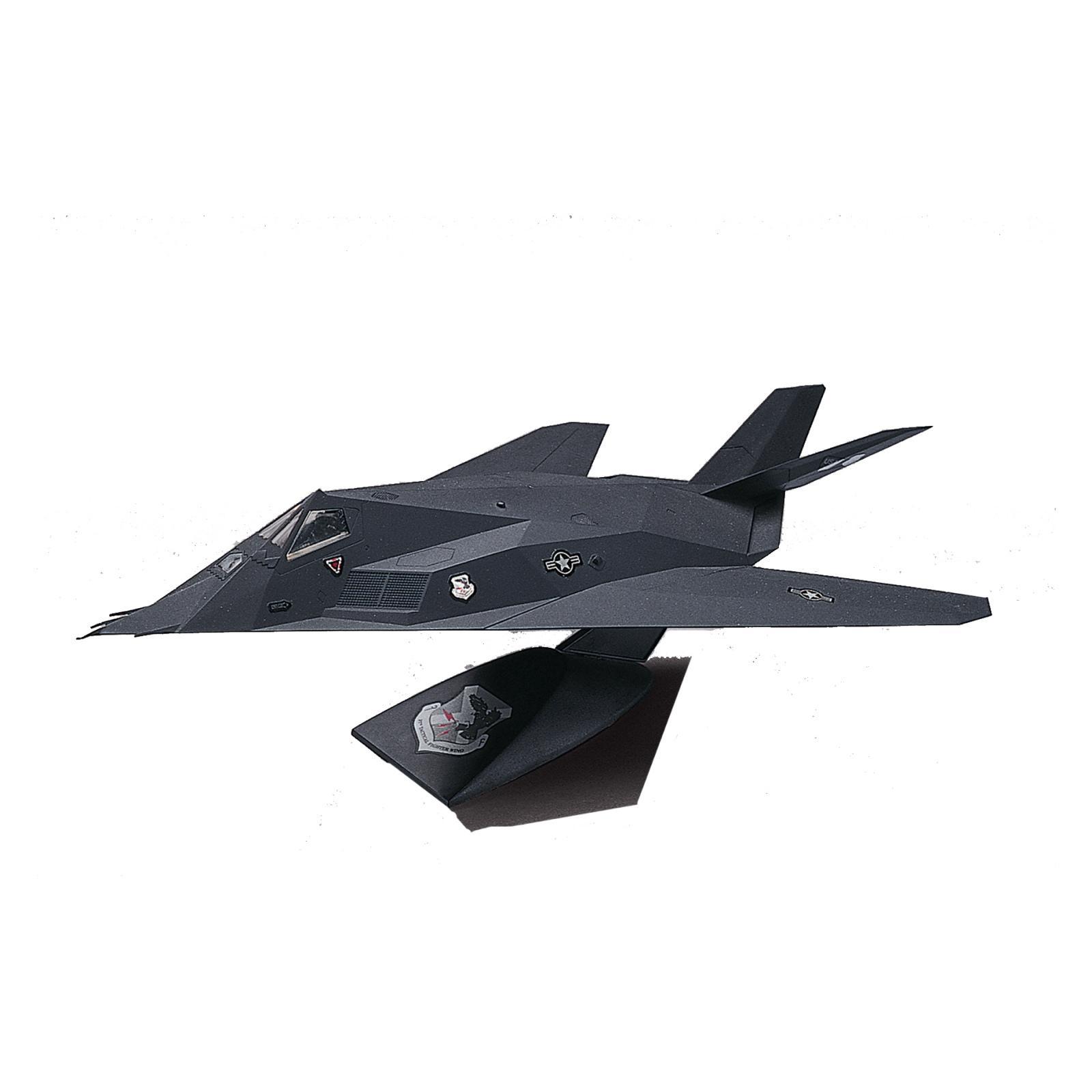 Revell 1:72 Scale F-117 Nighthawk Stealth Fighter Desktop Plastic Model Kit