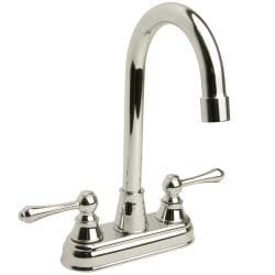 High-arc Polished Chrome Bar Faucet