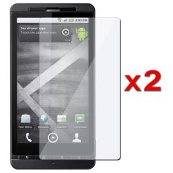 Screen Protector for Motorola Droid X MB810 (Pack of 2)
