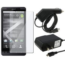 3-pack Combo Kit for Motorola MB810 Droid X