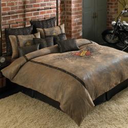 Street Revival Winged Heart 3-Piece Queen-size Comforter Set