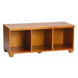 VP Home I-Cubes Honey Birch Storage Bench