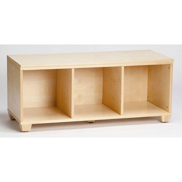 Vp Home I Cubes Natural Storage Bench Overstock Shopping Great Deals On Alaterre Kids 39 Storage
