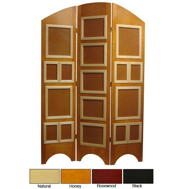 Spruce Wood 5.5-ft Tall Arc Top Photo Screen (China)