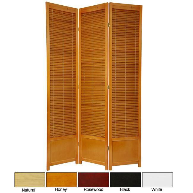 Wooden 7-foot Shutter Screen (China)