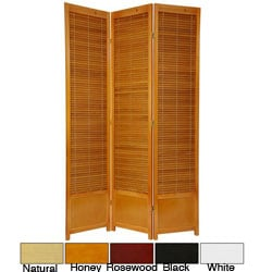 Wooden 7-foot Shutter Screen (China)