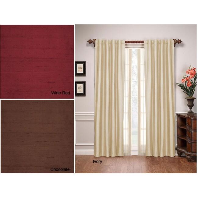 Stanford Silk 84-inch Window Panel