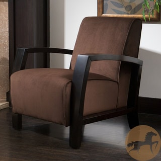 Christopher Knight Home Emerson Microfiber Brown Club Chair