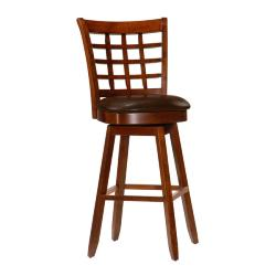 Landon 29-inch Wheat-back Cherry Wood Barstool