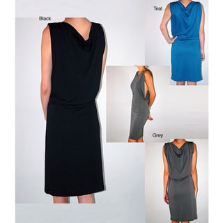 Institute Liberal Women's Cowl-back Sheath Dress