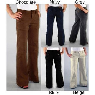 Institute Liberal Women's Stretch Twill High-waist Trousers