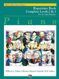 Alfred's Basic Piano Repertoire Book: For the Late Beginner (Paperback)