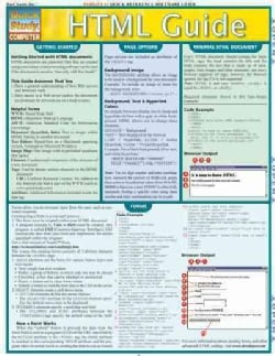 HTML Guide Quick Reference Guide (Cards)