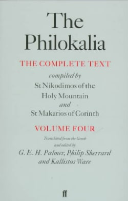 The Philokalia: The Complete Text (Paperback)
