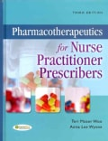 Pharmacotherapeutics for Nurse Practitioner Prescribers (Hardcover)