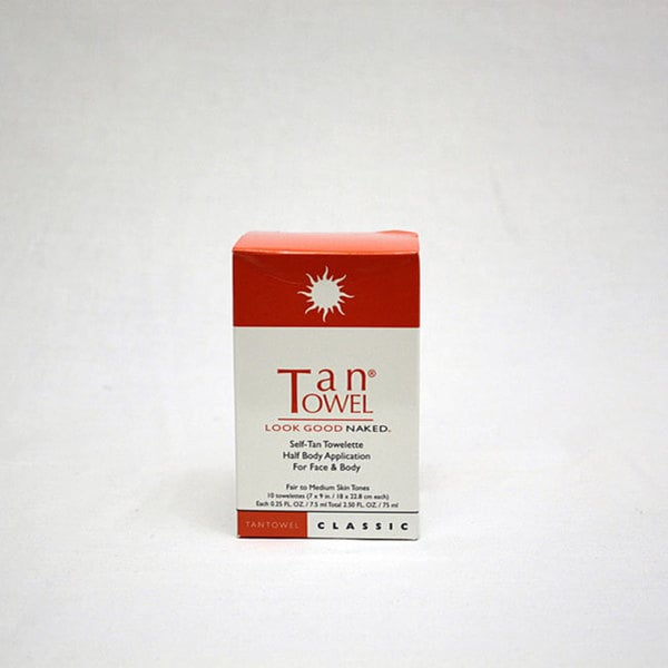 Tantowel Plus Half Body Self Tanner (Case of 50)