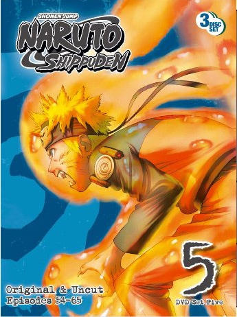 Naruto Shippuden Box Set 5 (DVD)