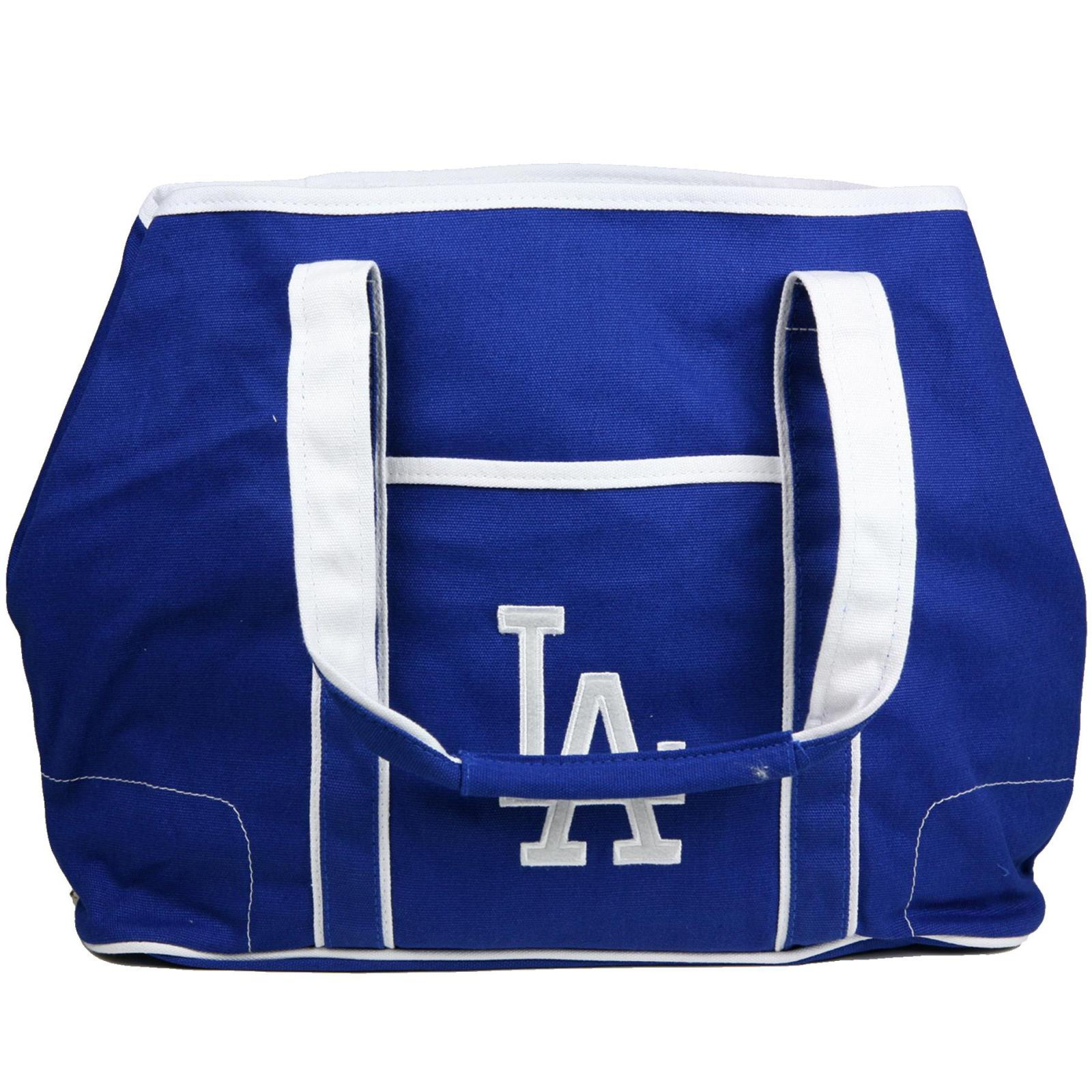 Los Angeles Dodgers Canvas Hampton Tote Bag