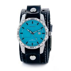 Nemesis Men's Classic Aqua Sporty Compass Watch