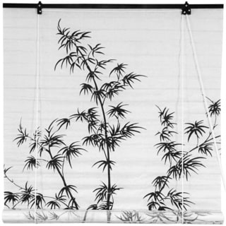 Bamboo and Rice Paper 36-inch Shoji Blinds (China)