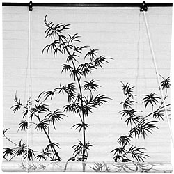 Bamboo and Rice Paper 48-inch Shoji Blinds (China)