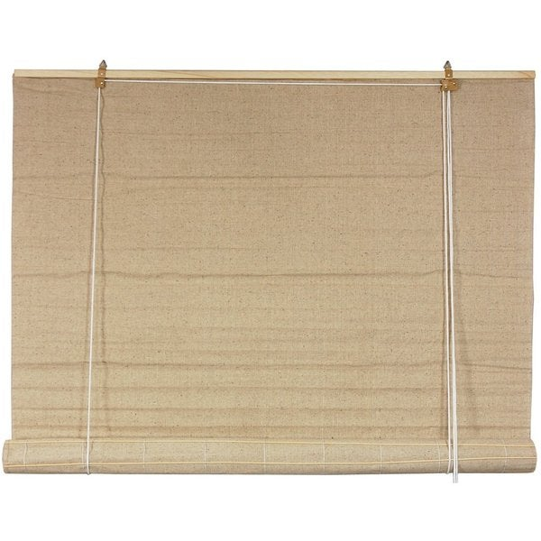 Jute Fiber 48-inch Bianco Roll-up Blinds (China)