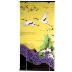 Rice Paper 36-inch Cranes Shoji Blinds (China)
