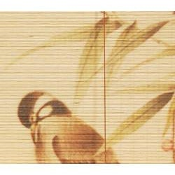 36-inch 'Love Birds' Bamboo Blinds (China)