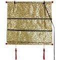 48-inch Gold Shang Hai Tan Blinds (China)