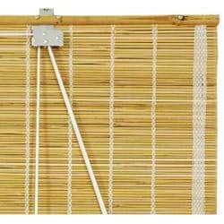 24-inch Natural Matchstick Roll Up Blinds (China)