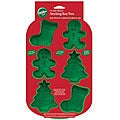 Wilton 6-cavity Silicone Christmas Mold