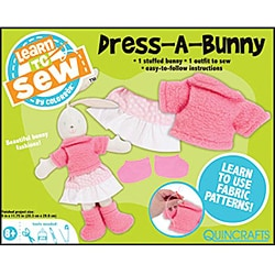'Dress-a-Bunny' Learn To Sew Kit