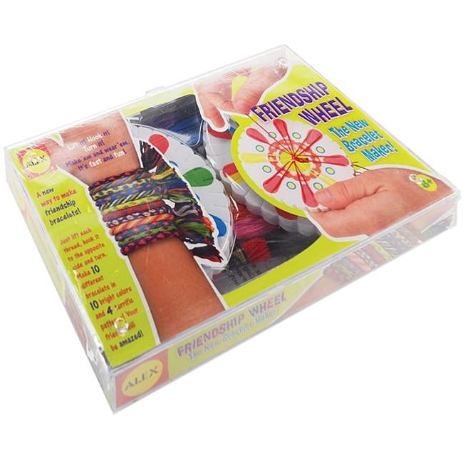 Friendship Bracelet Kit with Instructions
