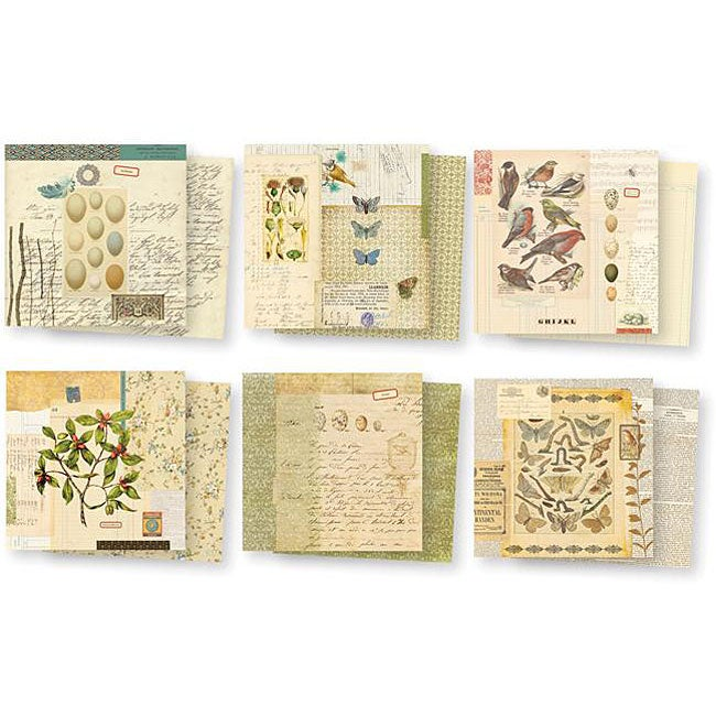 7 Gypsies Conservatory Double-sided 6x6-inch Paper Pack