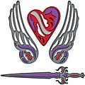 Spellbinders Shapeabilities Fallen Angel Dies
